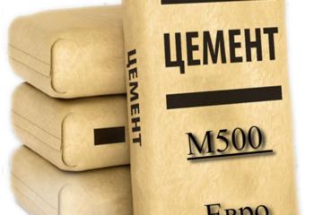 Евро цемент м500 купить с доставкой по спб и лен области